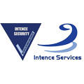 logo intence services security